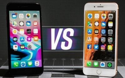 Porównanie: wyświetlacz iPhone 8 vs iPhone 7