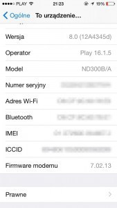 iphone ipad imei numer seryjny