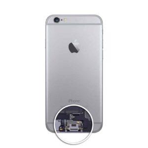 wymiana złącza ładowania iphone 6s