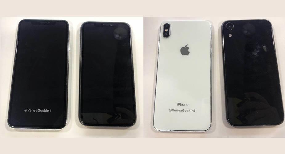 Czyżby do Sieci wyciekły zdjęcia iPhone 9 oraz iPhone X Plus?