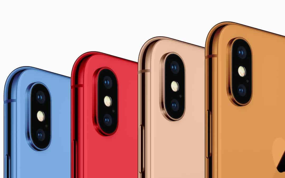 Wielobarwny iPhone 9 coraz bardziej prawdopodobny